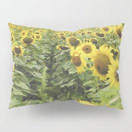 Sunflower fields forever Pillow Sham