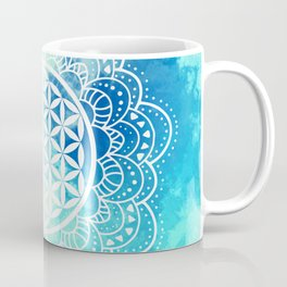Flower Of Life (Summer Sky) Coffee Mug