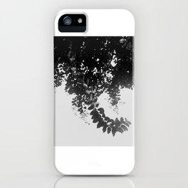 Leaf Curl iPhone Case