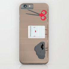 Rock paper scissors iPhone 6s Slim Case