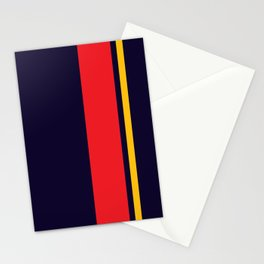 Navy Racer Stationery Cards