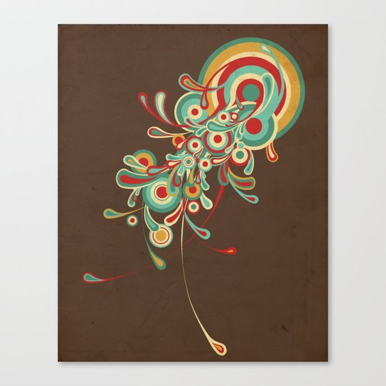 I'll be Your Jellyfish Canvas Print