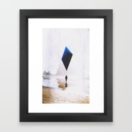 What The Tide Brought Framed Art Print