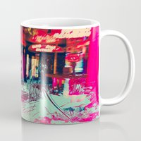 burlesque Mugs featuring Burlesque by The Lola is Here Store