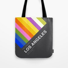 Colors of Los Angeles Tote Bag