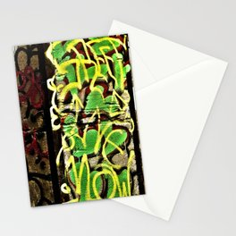 Graffiti And Metal Stairs Stationery Cards