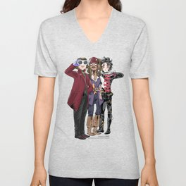 Johnny's looking at you Unisex V-Neck