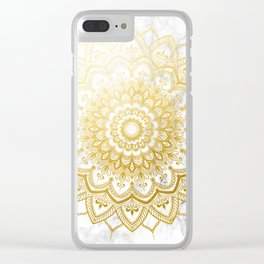 Pleasure Gold Clear iPhone Case