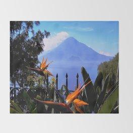 Lago Atitlan, Guatemala Throw Blanket