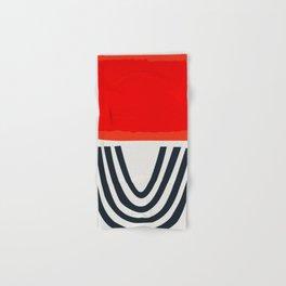Red Lipstick Hand & Bath Towel