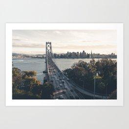 Bay Bridge - San Francisco, CA Art Print