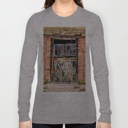 Stable Door Outside Long Sleeve T-shirt
