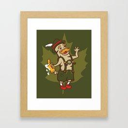 Bratoberfest Framed Art Print