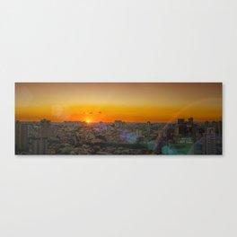 city panorama print Canvas Print