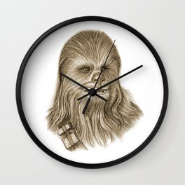 Wookiee Chewbacca Wall Clock