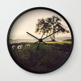 Seasons in change Wall Clock