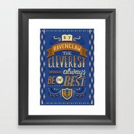 Cleverest Framed Art Print
