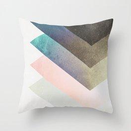 Geometric Layers Throw Pillow