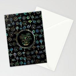 Decorative Chinese Money tree Abalone Shell Stationery Cards