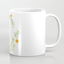 Bees in the Garden - Watercolor Graphic Coffee Mug