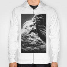 Tom Feiler Black and White Ram Hoody