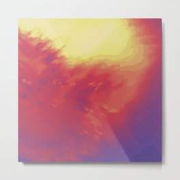 Psychedelica Chroma IV Metal Print