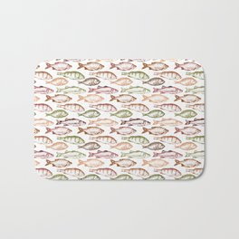 Colorful Fish Bath Mat