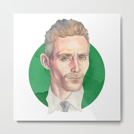 Hiddleston Metal Print