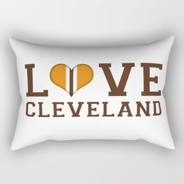 LUV Cleveland Rectangular Pillow
