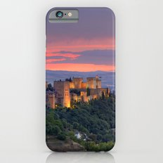 The alhambra and Granada city at sunset iPhone 6s Slim Case