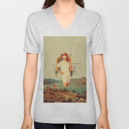 SunflowerMiss Unisex V-Neck