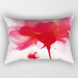 497 - Red Roses abstract Rectangular Pillow