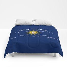 Conch Republic Flag Comforters