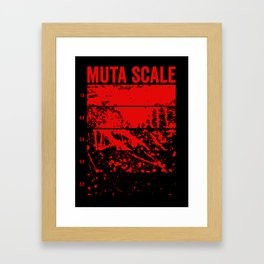Muta Scale Framed Art Print