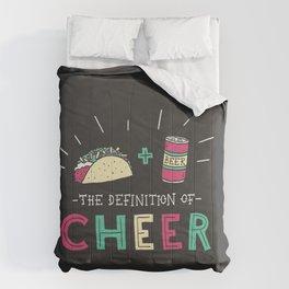 Tacos and Beer Comforters