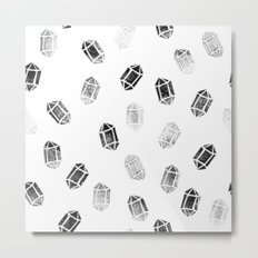 Day 035   #margotsdailypattern Metal Print