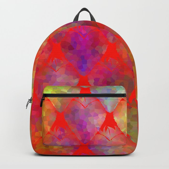Strawberry Hearts Backpack