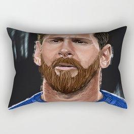 argentina's boy Rectangular Pillow