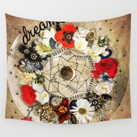 dreamer Wall Tapestries featuring Dreamer by Jenndalyn