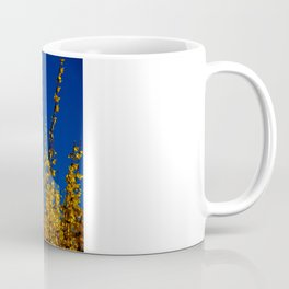blue and yellow Coffee Mug