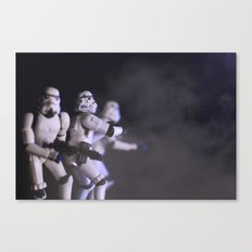 Only Imperial Stormtroopers are so precise Canvas Print