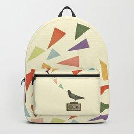 Pigeon Radio Backpack