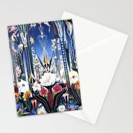 Flowers, Italy by Joseph Stella Stationery Cards