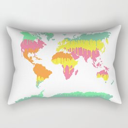 Melting World Rectangular Pillow
