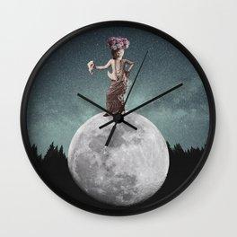 I Found My Napkin Wall Clock