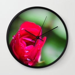 Tiny Rose Wall Clock