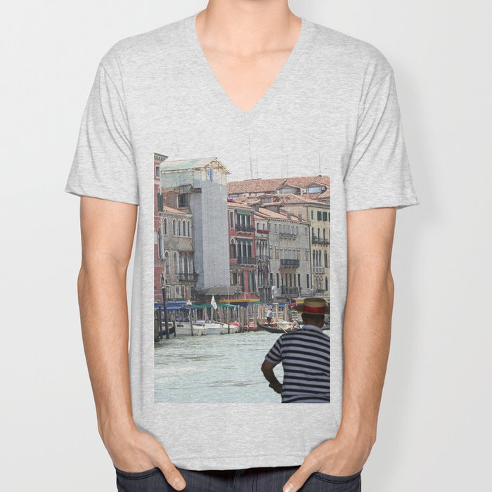 Venice_002 Unisex V-Neck