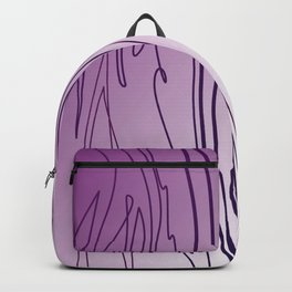 zebra stripes zebra skin  pink Backpack