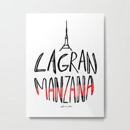 La Gran Manzana Metal Print