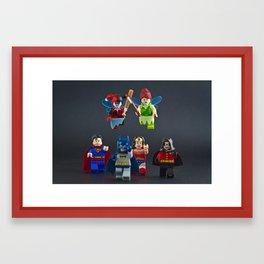Scary Fairies Framed Art Print